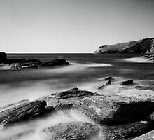 Cornish Coast.  by Paul Richards