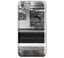 metro, alone iPhone Case/Skin