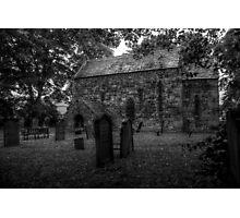 Escomb Saxon Church Monochrome Photographic Print