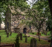 Escomb Saxon Church by Andrew Pounder