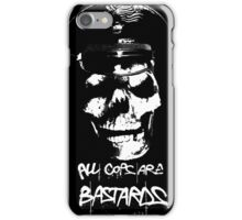 "ACAB ""ALL COPS ARE BASTARDS"" T-SHIRT iPhone Case/Skin"