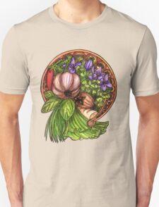 Art nouveau vegetables Unisex T-Shirt
