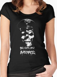 """ACAB """"ALL COPS ARE BASTARDS"""" T-SHIRT Women's Fitted Scoop T-Shirt"""
