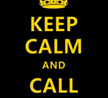 Keep Calm And Call Batman Sticker