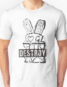 Destroy Bunny  Unisex T-Shirt