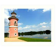 Moritzburg Castle Lighthouse Art Print