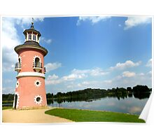 Moritzburg Castle Lighthouse Poster