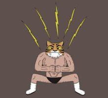 Man Tiger Attacks with thunder fist bump by DiabolickalPLAN