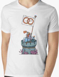 fidelity t-shirt Mens V-Neck T-Shirt