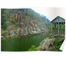 Resting spot on Cataract Gorge Poster