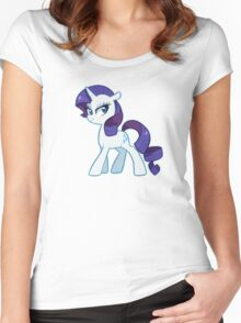 rarity Women's Fitted Scoop T-Shirt