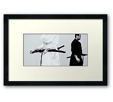 Iaido Framed Print
