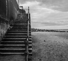 Wallasey Waterfront Steps by Paul Madden