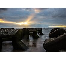 Sunset over the Irish Sea Photographic Print