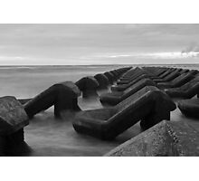 Irish sea water breakers Photographic Print