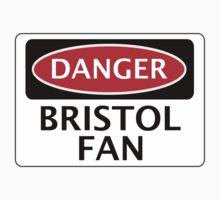 DANGER BRISTOL CITY, BRISTOL FAN, FOOTBALL FUNNY FAKE SAFETY SIGN Kids Clothes