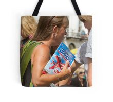 The programme for the Airbourne 2013 show Tote Bag