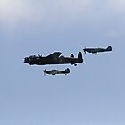The Battle of Britain Memorial Flight by Keith Larby