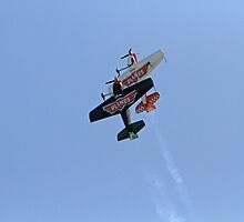 The Matadors fly disney planes at Airbourne in Eastbourne by Keith Larby