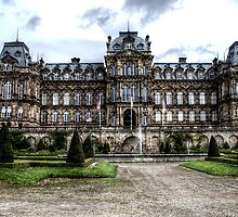 Bowes Museum Facade by Andrew Pounder