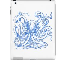watch the octopus in the eye iPad Case/Skin