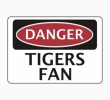 DANGER HULL CITY, TIGERS FAN, FOOTBALL FUNNY FAKE SAFETY SIGN Kids Clothes