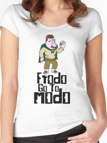 frodo go to modo Women's Fitted Scoop T-Shirt