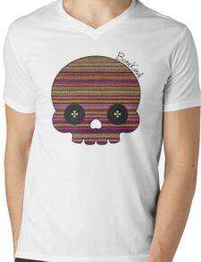 Bone Kandi - Buttons Mens V-Neck T-Shirt