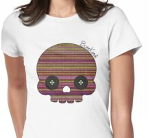 Bone Kandi - Buttons Womens Fitted T-Shirt
