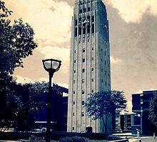 Ann Arbor Clock Tower by perkinsdesigns