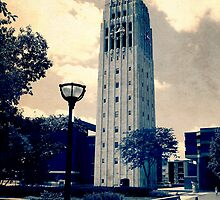 Ann Arbor Clock Tower by Phil Perkins