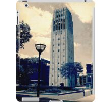 Ann Arbor Clock Tower iPad Case/Skin