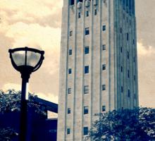 Ann Arbor Clock Tower Sticker