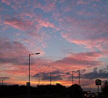 Sunset over Hove by Sue Robinson