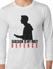 Stiles Stilinski - Sarcasm is my only defence Long Sleeve T-Shirt