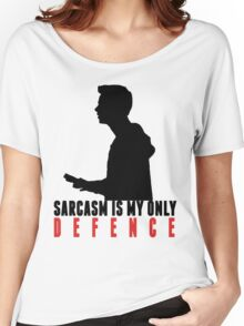 Stiles Stilinski - Sarcasm is my only defence Women's Relaxed Fit T-Shirt