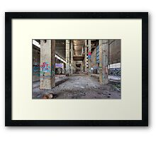 Old Powerhouse 1 - HDR Framed Print