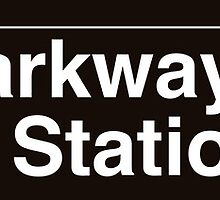 NYC Forest Parkway - 85 Street Station - J by axemangraphics