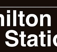 NYC Fort Hamilton Parkway Station - D by axemangraphics