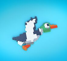 8-Bit Duck by nellyb