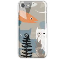 CATS 1 iPhone Case/Skin