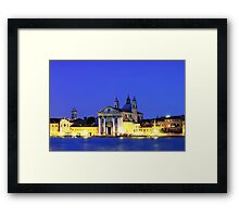 St Mary of the Rosary Church   Venice Framed Print