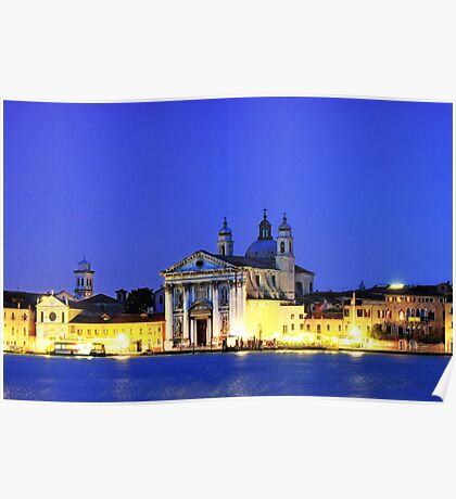 St Mary of the Rosary Church   Venice Poster