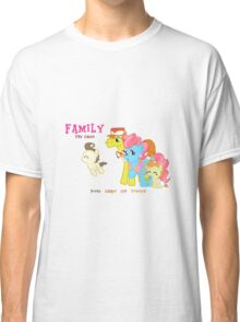 The Cakes Family - My Little Pony Classic T-Shirt