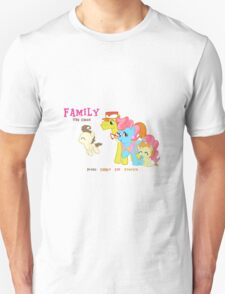 The Cakes Family - My Little Pony Unisex T-Shirt