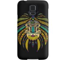 Emperor Tribal Lion Black Samsung Galaxy Case/Skin