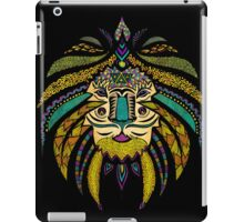 Emperor Tribal Lion Black iPad Case/Skin