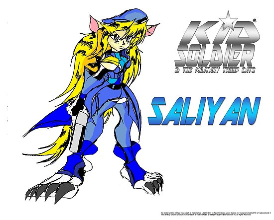 Saliyan (Kid Soldier 2010) Poster by TakeshiUSA