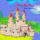 A Castle In Days of Old by Dennis Melling