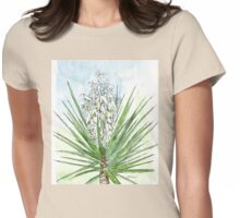 Yucca - Botanical Womens Fitted T-Shirt